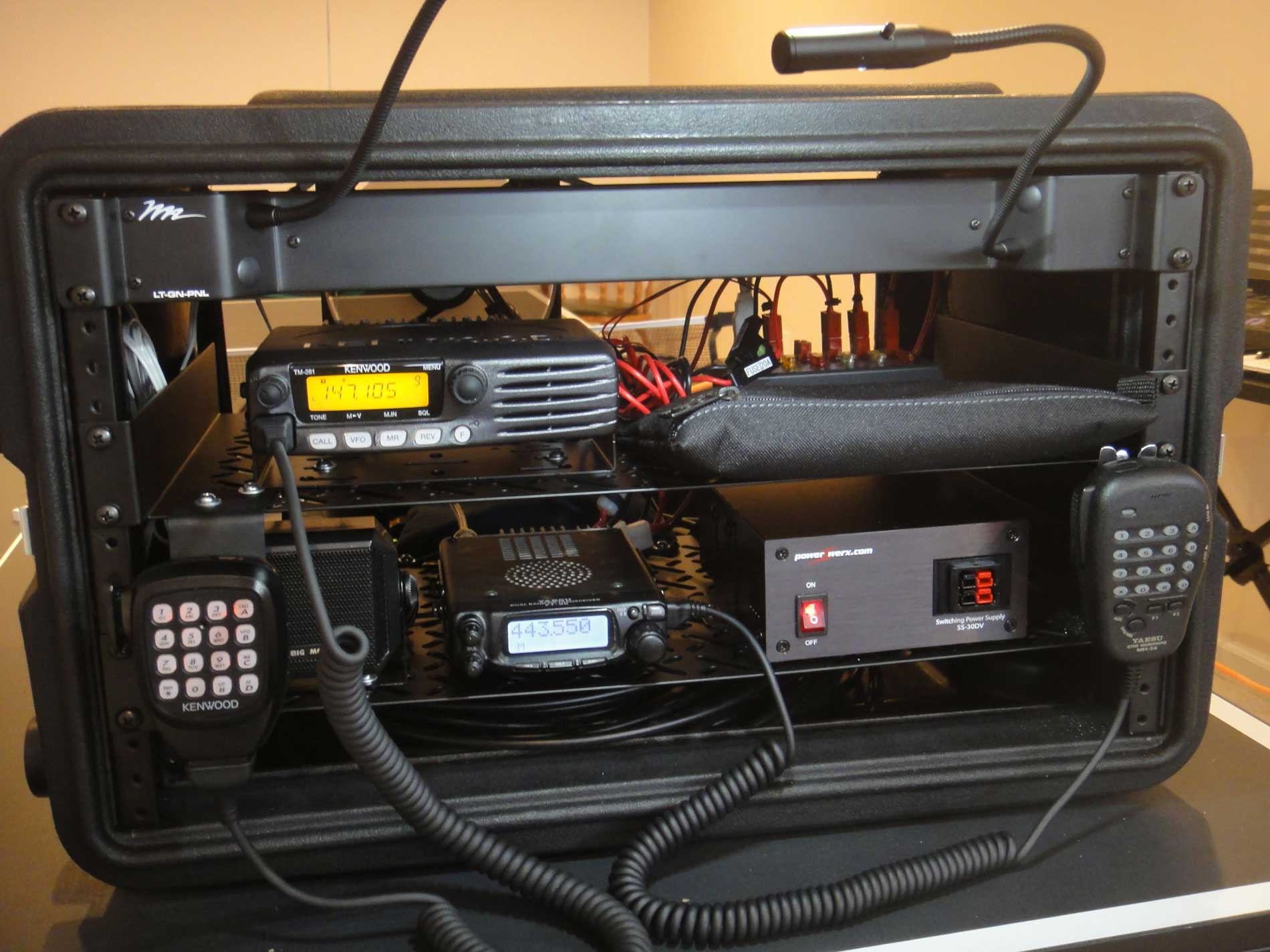 Amateur Radio Go Box Ham Radio Ares Races Youtube