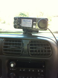 IC-7000 Remote Mount